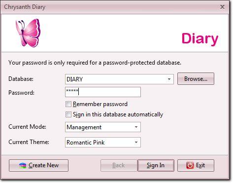 The Romantic Pink theme